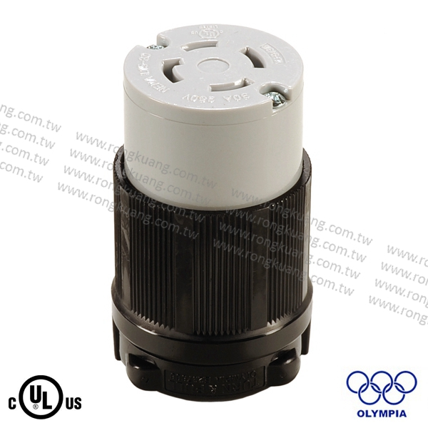 NEMA L15-30 Locking Connector