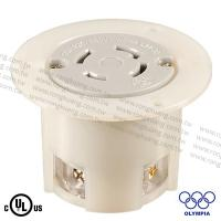 NEMA L14-30 Locking Flanged Outlet