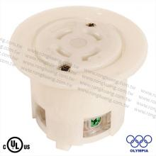NEMA L17-30 Locking Flanged Outlet