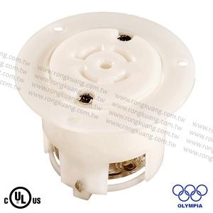 NEMA L21-20 Locking Flanged Outlet