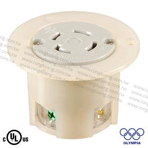 NEMA L15-30 Locking Flanged Outlet