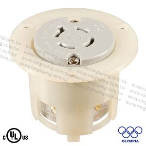NEMA L15-20 Locking Flanged Outlet